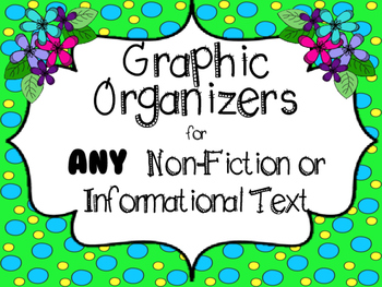Graphic Organizers for Any Non-Fiction Book