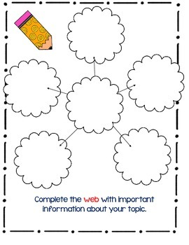 Graphic Organizers for Any Paragraph!