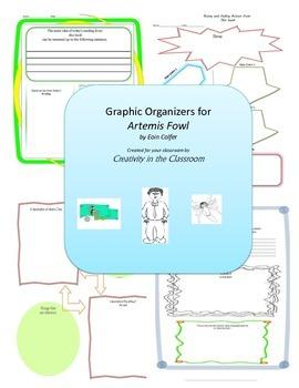 Graphic Organizers for Artemis Fowl