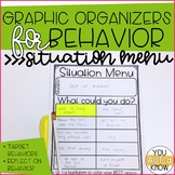 Graphic Organizers for Behavior: Situation Menu