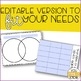 Graphic Organizers for Behavior: Venn Diagram + Editable Diagram