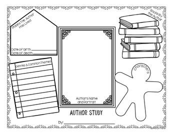 Graphic Organizers Book Report