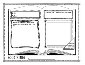 Graphic Organizers Book Report