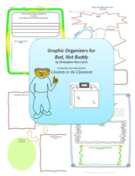 Graphic Organizers for Bud, Not Buddy