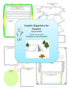 Graphic Organizers for Canyons