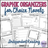 Graphic Organizers for Choice Novels (Independent Reading)