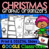 Reading Graphic Organizers for Reading Comprehension: Christmas Themed