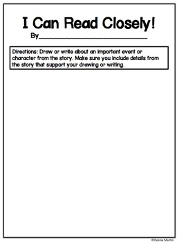 Graphic Organizers for Close Reading