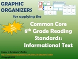 Graphic Organizers for Common Core Reading Standards (Gr.