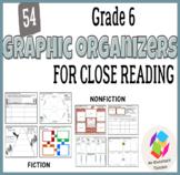 Grade 6 Graphic Organizers for Common Core Close Reading: