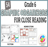 Graphic Organizers for Common Core Reading Standards (Gr.6