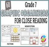 Grade 7 Graphic Organizers for Common Core Close Reading: Fiction and Nonfiction
