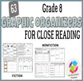 Grade 8 Graphic Organizers for Common Core Close Reading: