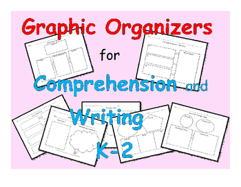 Graphic Organizers for Comprehension and Writing: 21 Graph