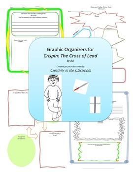 Graphic Organizers for Crispin - The Cross of Lead