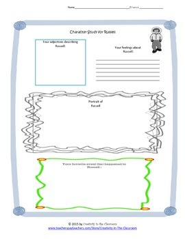 Graphic Organizers for Dogsong