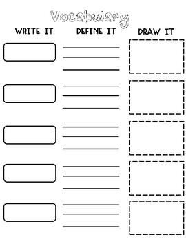 Graphic Organizers for ELA