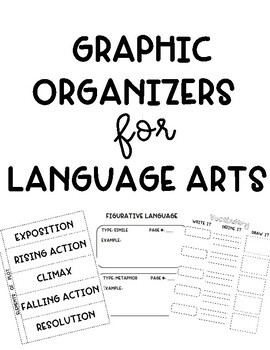 Graphic Organizers for Interactive Notebooks