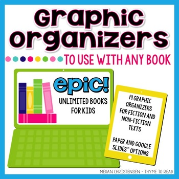 Graphic Organizers for EPIC app