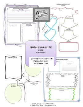 Graphic Organizers for Eggs