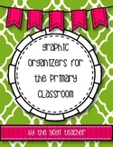 Graphic Organizers for Elementary Teachers mini-pack, Comm
