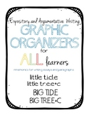 Graphic Organizers for Evidence Based Writing TIDE and TREE+C