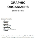Graphic Organizers for Fiction
