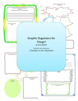 Graphic Organizers for Firegirl