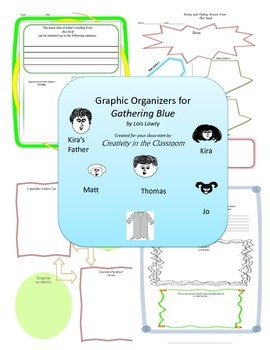 Graphic Organizers for Gathering Blue