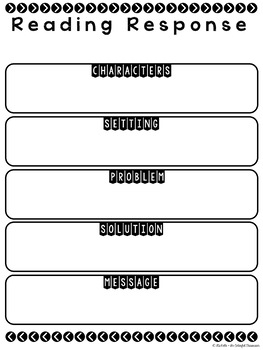 Graphic Organizers for Google Drive :: Story Elements