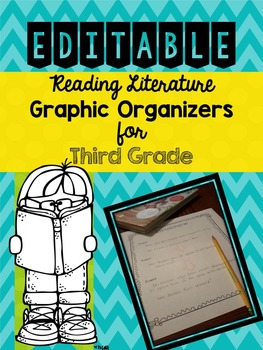 Graphic Organizers for Guided Reading  - Third Grade/EDITABLE