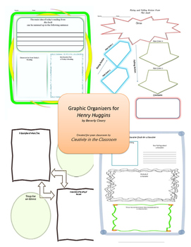 Graphic Organizers for Henry Huggins