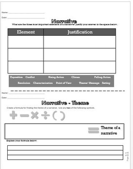 Graphic Organizers for Higher Level Thinking in Language Arts (6-8)