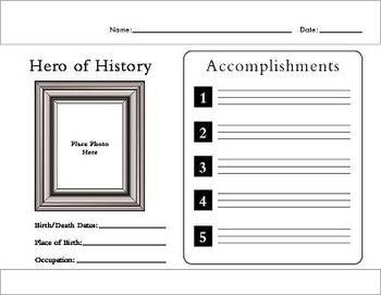 Graphic Organizers for History and Social Studies!