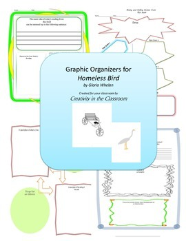 Graphic Organizers for Homeless Bird