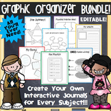 Graphic Organizer Interactive Notebook BUNDLE