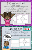 Graphic Organizers for Kindergarten and 1st Grade Writers I Can Write! BUNDLE!