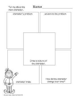 Graphic Organizers for Language Arts: Christmas Themed