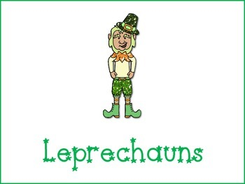 Leprechauns Graphic Organizers -Freebie
