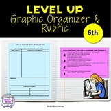 Graphic Organizers for Level Up Activities for HMH Collections Grade 6