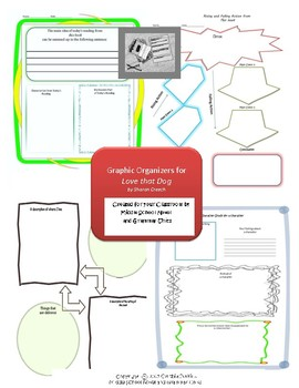 Graphic Organizers for Love that Dog
