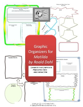 Graphic Organizers for Matilda