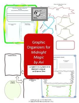 Graphic Organizers for Midnight Magic