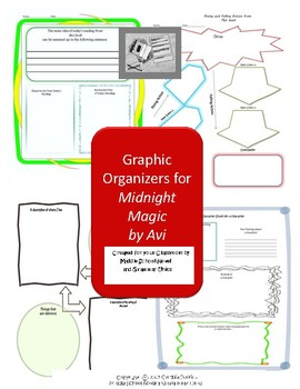 Graphic Organizers for Midnight Magic