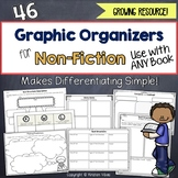 Graphic Organizers for ANY Non-Fiction Text