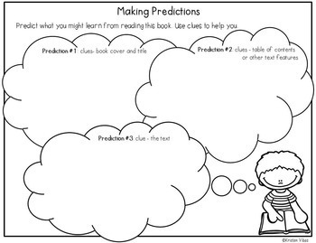 Graphic Organizers for Reading Comprehension Non-Fiction