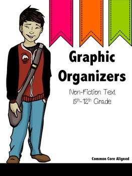 Graphic Organizers for Secondary ELA