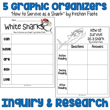 Graphic Organizers for Nonfiction Text & Research Projects: FREE