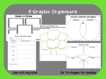 Graphic Organizers for Novel Studies