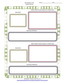 Graphic Organizers for Number the Stars